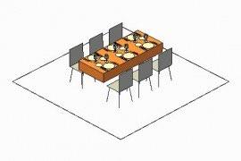 6 ft banquet