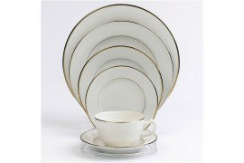 Gold-Rimmed-China-Set